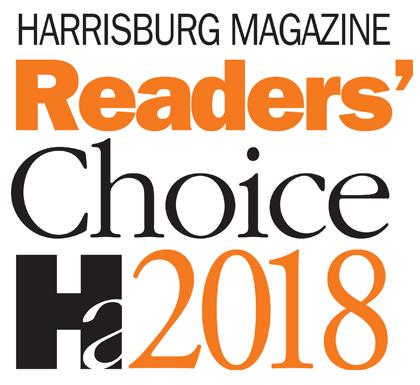 Harrisburg Magazine Readers Choice 2018